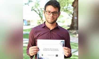 Estudiante de Unimag ganó Olimpiada Nacional de Economía
