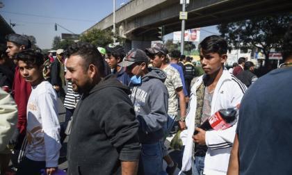 En video | Ciudad de México concentra unos 4.000 migrantes de caravana