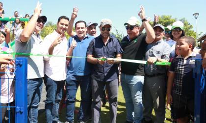 Alcalde de Barranquilla entrega parque Salcedo