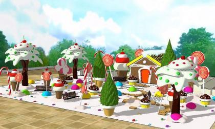 Gobernación enciende la Navidad en la Plaza de la Paz