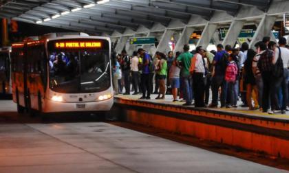 Transmetro reactiva operación sobre troncal Murillo hacia estación Parque Cultural
