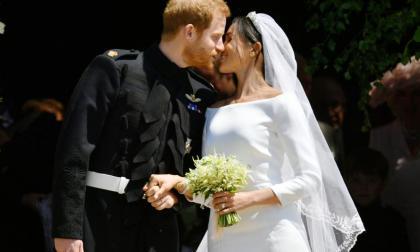 """El príncipe Harry y Meghan Markle dieron el """"Sí"""" el 19 mayo."""