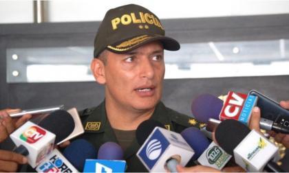 Comandante de la Policía, Mariano Botero Coy.