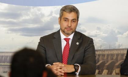 Mario Abdo, presidente de Paraguay.