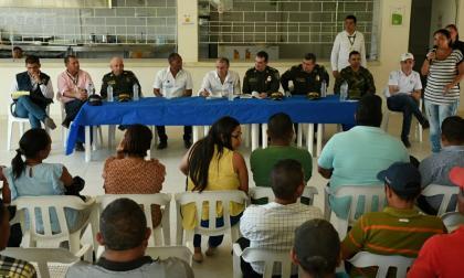 Toque de queda y ley seca indefinida en Santa Cruz, Luruaco, tras asonada
