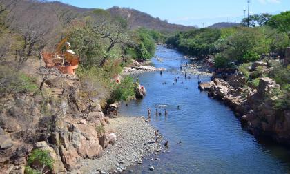 El río Guatapurí sería indispensable para suministrar agua al embalse que se planea construir cerca a la cuenca media de este.