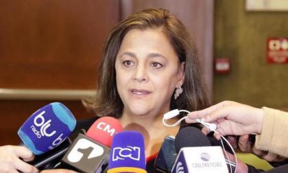 Hilda Gómez Vélez , directora de la Agencia Nacional de Seguridad Vial.