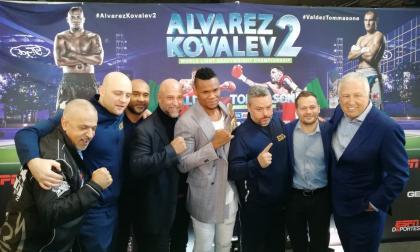 """Si Kovalev intenta cambiar su estilo, va a ser peor para él"": Eléider Álvarez"
