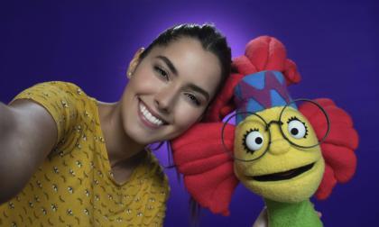 Paulina Vega, Fanny Lu y Andrés López en show de tv