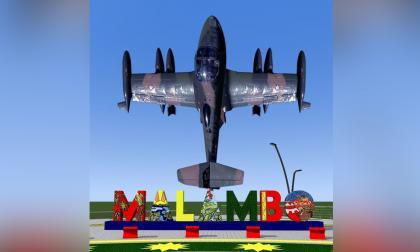 Avanza construcción del letrero multicolor que da la bienvenida al municipio de Malambo