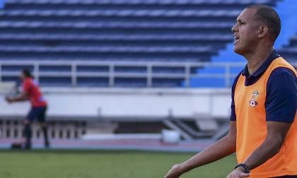 Roberto Peñaloza, técnico del Barranquilla FC.