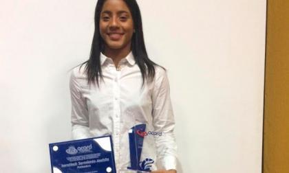 Patinadora Kerstinck Sarmiento, Deportista del Año 2018 Acord Magdalena