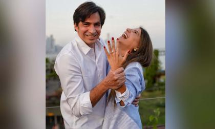 Los vientos de boda que  soplan para Marcela García