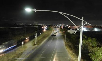 Verano 'ilumina' el cumpleaños de Galapa con proyecto de 500 luminarias led en La Cordialidad