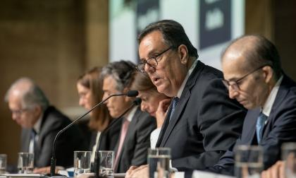 El presidente del Grupo Argos, Jorge Mario Velásquez.