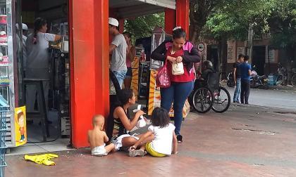Denuncian uso de niños para mendicidad en Valledupar