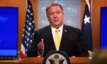 El jefe de la diplomcia de Estados Unidos, Mike Pompeo.