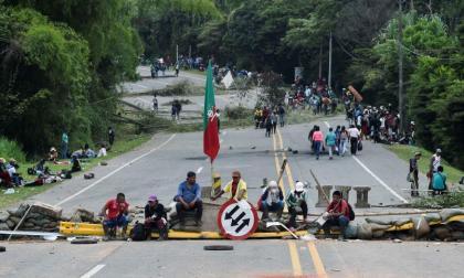Con tutela ordenan a indígenas desbloquear vías del Cauca