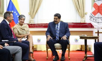 La Cruz Roja internacional triplica su presupuesto para Venezuela