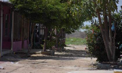 Sector del barrio Ciudad Modesto donde ocurrió el hecho.