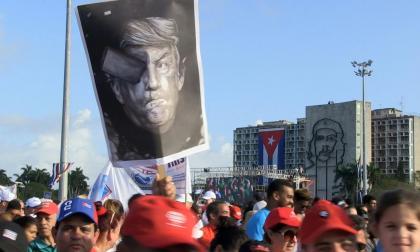 En video   Cuba marchó en apoyo a Venezuela y contra política de Trump