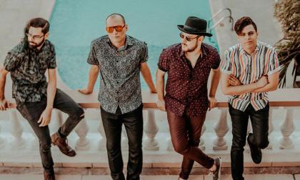 La banda de rock barranquillera Los Crankers.