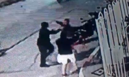 Riña con policías en San Luis por picó