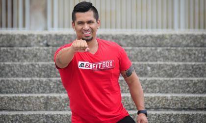 Alex Fitbox es reconocido a nivel mundial por desarrollar rutinas para las celebridades.