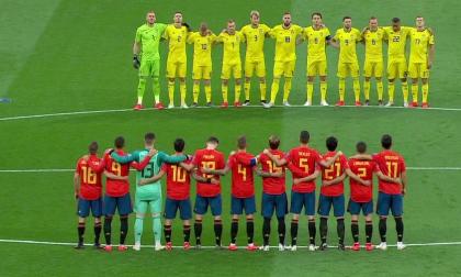 El Bernabéu guarda un emotivo minuto de silencio en honor a Reyes