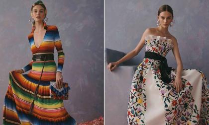Algunos vestidos de la última colección de Carolina Herrera, Resort 2020.