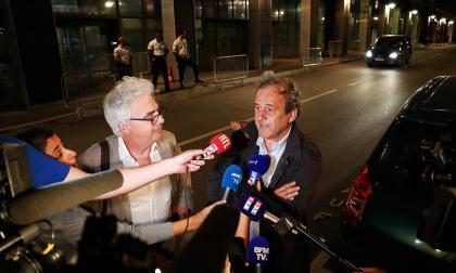 Platini es puesto en libertad luego de ser interrogado por Catar-2022