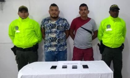 Caen padre e hijo señalados de ser presuntos sicarios del 'Clan del Golfo' en Córdoba