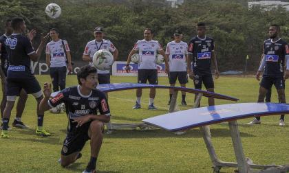 El chileno Matías Fernández en la práctica de ayer.