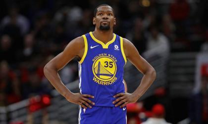 Warriors retirarán el número 35 de Kevin Durant