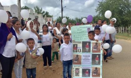 En video | Globos para Fabián, el niño fallecido en accidente en Momil