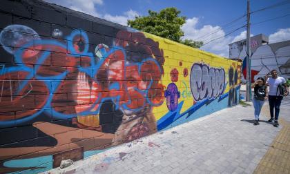 Vuelven a vandalizar mural en homenaje a Esthercita Forero