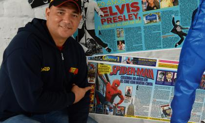 Yesid Torres, Director Comic Fest Colombia.
