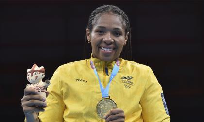 Jessica Caicedo gana el último oro del boxeo en Lima