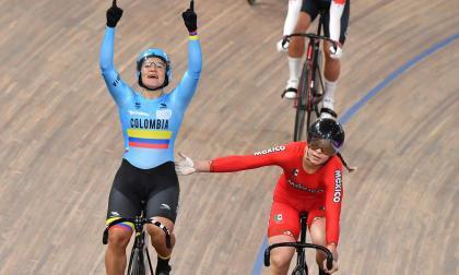 Colombiana Martha Bayona gana el oro en el keirin femenino de los  Panamericanos