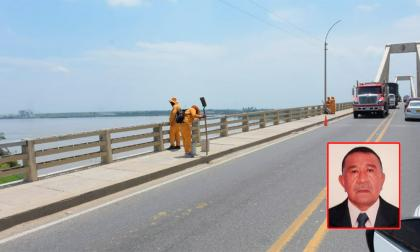 Hombre desaparece en el río Magdalena: testigos dicen que bajó de un carro y se lanzó