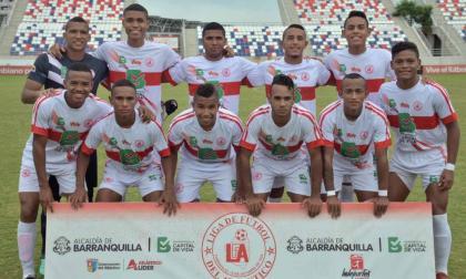 Integrantes de la Selección Atlántico Sub-21.