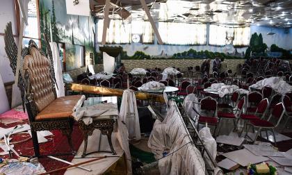 Atentado suicida en boda en Afganistán deja 63 muertos y 182 heridos