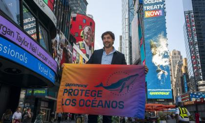 Actor Javier Bardem exigió en la ONU un tratado global de los océanos