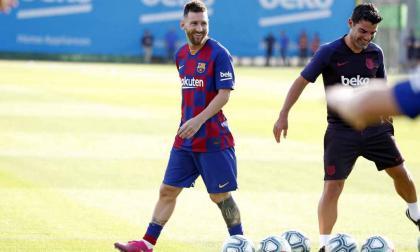 El Barça espera reaccionar ante el Betis en posible regreso de Messi