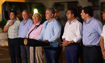 Duque confirma captura de Carlos Mario Úsuga, jefe de finanzas del Clan del Golfo