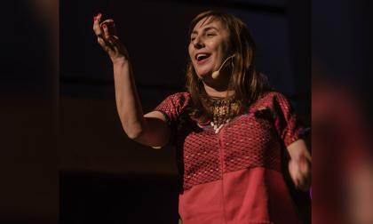 La filóloga, editora y narradora oral escénica Ana Griott.