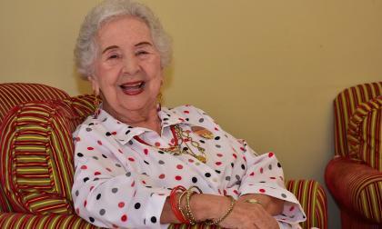 La cuentera antioqueña Teresita Vásquez, de 81 años, invitada al Festival El Caribe Cuenta.