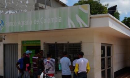 Roban más de $400 millones de Banco Agrario de Candelaria