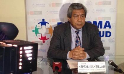 Neptalí Santillán, viceministro peruano de Salud.