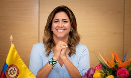 La Primera Dama del País, María Juliana Ruiz Sandoval.